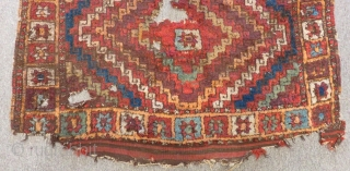 Early 19th C Central East Anatolian fragment Rug Size.245x112 Cm