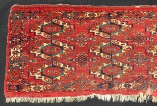 Antique Türkmen Tekke Torba Size.128x47 Cm