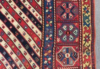 Secound 19th Century Shahsaven Rug Size.200x130 Cm