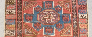 19th Century Central Anatolian Konya Rug l have Some Old Repairs Size.290x147cm