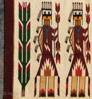 Small Navaho Kilim Size 56X50 Cm