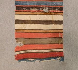 19th Century Manastır Kilim fragment Size.115x60 Cm