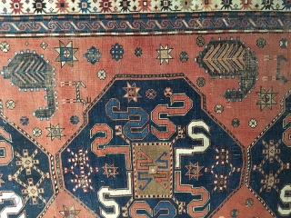 CAUCASUS IS A MELTING POT OF DIFFERENT TRIBAL AND ETHNIC GROUPS. PROMINENT AMONGST THE RUG WEAVERS ARE THE AZERI TURKS, THE ARMENIANS, THE KURDS AND THE TALISH. WITH ITS LONG PILE AND RELATIVELY  ...