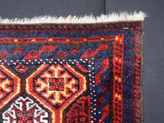 1271 Balouch Balisht with bright organic colours and good wool