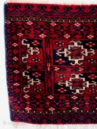 Mafrash panel, Ersari Tekke, mid 20th century.  Aina Kotschak pattern.  87 x 33 Cm.