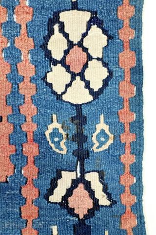 Kilim Bidjar, 170 x 110 Cm.  Koerdish, Senneh/Bidjar.  See Moussault, page 32.