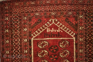 2 Ersari Beshir prayer rugs.