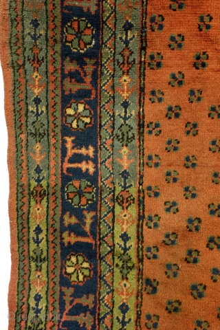 Antique medaillon Ushak, Anatolia. 
