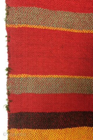 Bulgarian weaving, 320 x 180 Cm. 19th - early 20th century.  In mint condition.   woven in narrow strips and then sewn together. Not expensive, worth twice what I ask.
