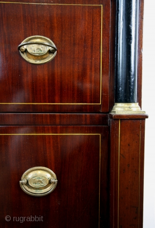 Chiffonière, chest with 6 drawers, 1795 - 1810. 