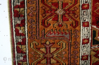 Konya prayer rug. 