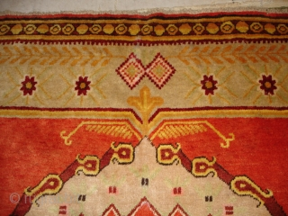 #6723 Antique Khotan Rug 5'9″ X 9'0″