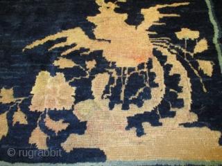 #7328 Antique Peking Chinese Rug 6'4″ X 8'5″ $6,500.00 Size: 6'4″ x 8'5″ (195cm x 259cm)  Age: Last quarter 19th century https://antiqueorientalrugs.com/product/7328-peking-chinese-rug/