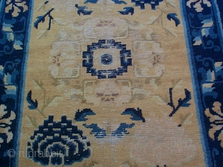 #5935 Antique Ningxia Chinese Rug
