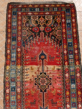 A Kurdish Kelardasht Runner, North Hamadan region, circa 1910