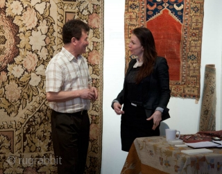 Some images of LARTA, London Antique Rug and Textile Arts fair, 2012 courtesy of Seref Ozen!