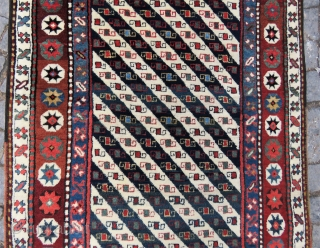 Shahsawen Shall design runner carpet all original amazing wool , colors and excellent condition size 3,50 x 1,04 cm ( 138'' X 41'' inches )Circa 1900-1910