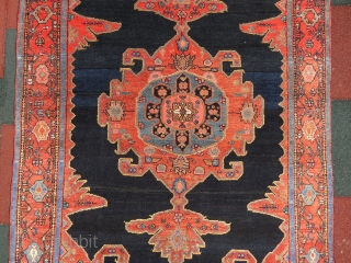 Antique persian gemel design Malayer rug wonderful colors and excellent condition all original very good wool red has abrach but both of them natural color and size 1,86 x 1,30 cm Circa  ...