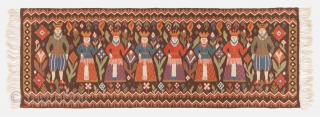 Swedish wall decoration panel, Early 20th century, Excellent condition, Not restored, Size: 190 x 67 cm. ( 74.8 x 26.4 inch )