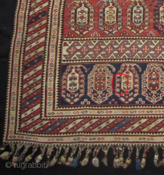Shahsavan horse cover 19th cent.