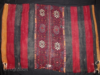 SE Anatolian chuval (sack) floating weft. Late 19th cent. 100 x 151 cm: