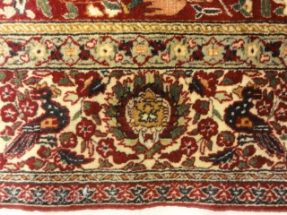 Antique Mughal Indian Emperial Rug