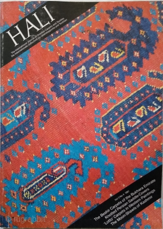 Hali Magazine Vol 3, issues 1, 2, 3 and 4 (Hali #9, #10, 11 and #12)  Hali #9: £40 plus delivery. Good condition. Very minor marks on covers. Hali #10: £50, very good condition,  ...