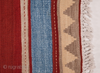 North Persian Cotton and Wool Kilim 157 x 310 cm / 5'1'' x10'2''
