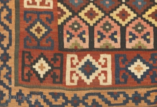 12590  Bijar Kilim 323x133cm Circa 1910
