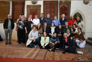 Study Tour Discover Transylvania 2010 organised by the authors of the volume Antique Ottoman Rugs in Transylvania. www.transylvanianrugs.com