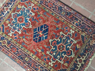 """3' 6"""" x 4' 8"""" Karaja in full pile condition.  Quote includes shipping/U.S.A."""