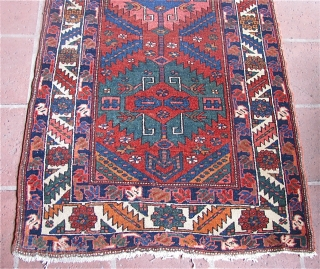 """3' 3"""" x 12' 3"""" """"At The Gym"""" Northwest Persian     Free Ship/U.S.    3 day returns policy"""