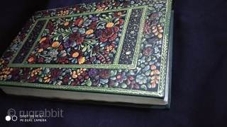 Finest quality Persian quran with translation having embossed lacquered binding