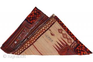 Bakhtiari - Saddle Bag Persian 130x94cm. Synthetic colors. More details https://www.carpetu2.com