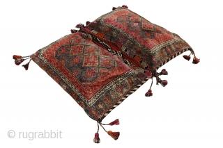 Antique Jaf - Saddle Bag Persian Carpet 146x105cm. More details https://www.carpetu2.com