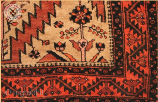 """TR1132 Antique Baluch rug natural dyed wool on wool foundation Very good condition Size : 1.74m x 1.17m  5`9"""" x 3`10"""""""