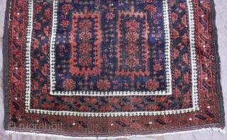"Timuri Baluch Rug circa 1870 size 2'6"" x 4'8""(76 x 102 cm.)"