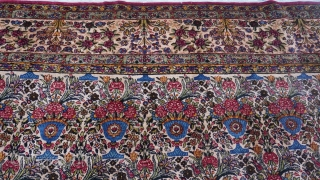 "Antique Persian Lavar Kerman oriental rug,ca. 1900-1910 , measures 10'8"" x 17'2"" (326 x 524 cm.), wonderful original condition, medium to low pile, no wears, sides and both ends are intact, professionally  ..."