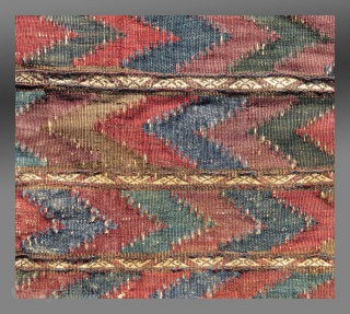 "Baluch Bag, W. Afghanistan, late 19th C/early 20th C(?), 1'2"" x 1'3""