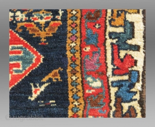 "Veramin Trapping/Torba(?), N. Persia, 19th C., 3'1"" x 1'3""