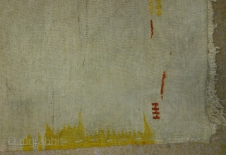 Antique Anatolian Juval(Jual), no: 125, size: 79*53cm, wool and wool.