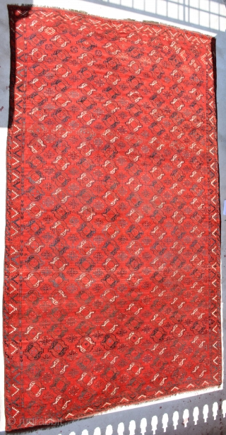 Classic Ersari circa 1900. which Gulls you are looking for? you have many rare gulls in this stunning massive size rug, beautiful colors and very good condition, colors seems to be more  ...