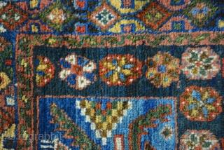 Exceptional Kurdish bag 19th century 64 x 61 cm