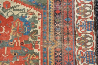 Collectors Bakhtiyar rug, Early 20th century, size is 210 x 138 cm