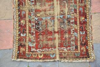 Ladik prayer rug 19th Century Size is 180 x 118 cm