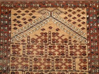 Ersari Prayer rug 19th century. 147 x 83 cm