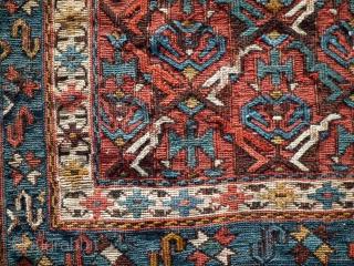 Antique Shahsavan bag 1880 size : 58 x 47 cm