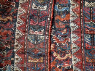 Persian Khamseh Bag : 1880