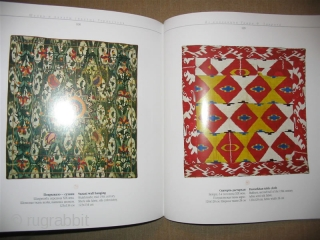 Clouds Captured in Silk: Ikats from Turkestan, Tair F. Tairov Collection, Moscow 2002, with signature of the author.  101 Color Plates 134 pp. 10 x 10 Paperback in NEW condition.  Pushkin State Museum exhibition  ...