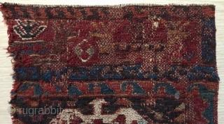 Rare Kurdish sumach fragmand size 36x24cmm